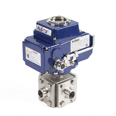 Electrical Actuator 4-Way Ball Valve