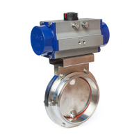 Pneumatic Sanitary Butterfly Valves