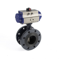 Pneumatic Flanged Butterfly Valves