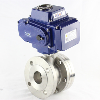 Electrical Stainless Steel Bottom Ball Valve