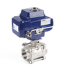 Electric Actuator 3-Piece Thread Ball Valves