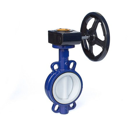 Gear-Operated Fully Lined Butterfly Valves