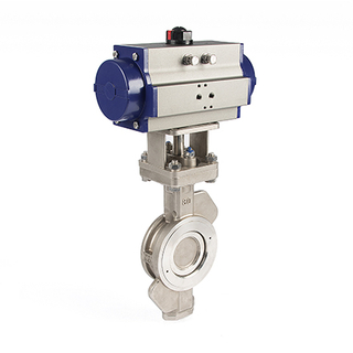 Pneumatic Hard Seal Trip Eccentric Butterfly Valve