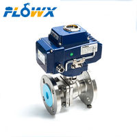 Motorized Ball Valve Q41f-16c Dn50