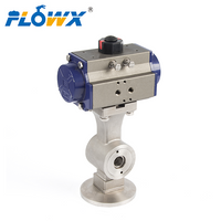 Pneumatic V Type Control Ball Valve for Sulphur