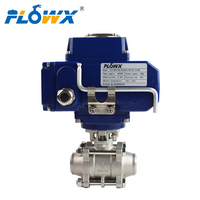 Two Way Ball Valve To Be Motorized Control Appolo