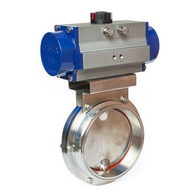 2 inch stainless steel butterfly valve