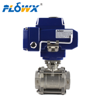 Electric Actuator Ball Valve Dc24 China