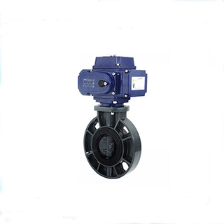 Quarter Turn Butterfly Valve Electric Actuator
