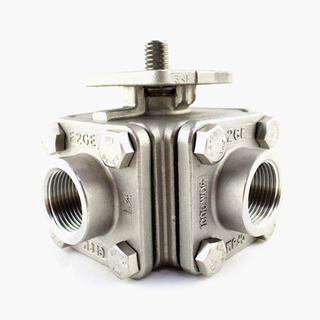 4 Way Stainless Steel Ball Valves Australia