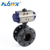 80mm Butterfly Valve with Flanges